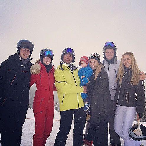 Ivanka Trump Family Ski Trip Aspen Photos Trump Kids Ivanka Trump Trump Family