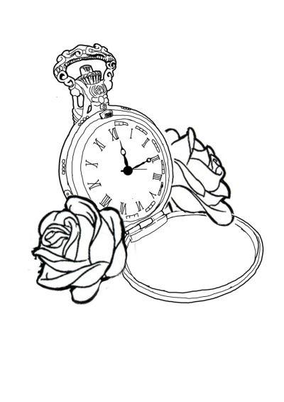 Watch Tattoo On Tumblr Watch Tattoos Pocket Watch Drawing Pocket Watch Tattoo