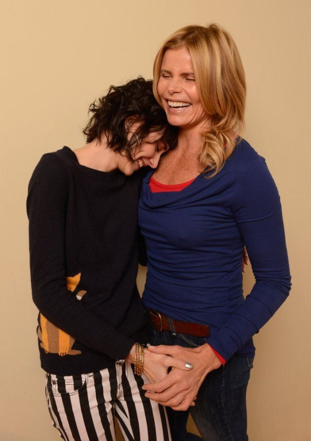Mariel Hemingway and Langley Hemingway at event of Running from Crazy