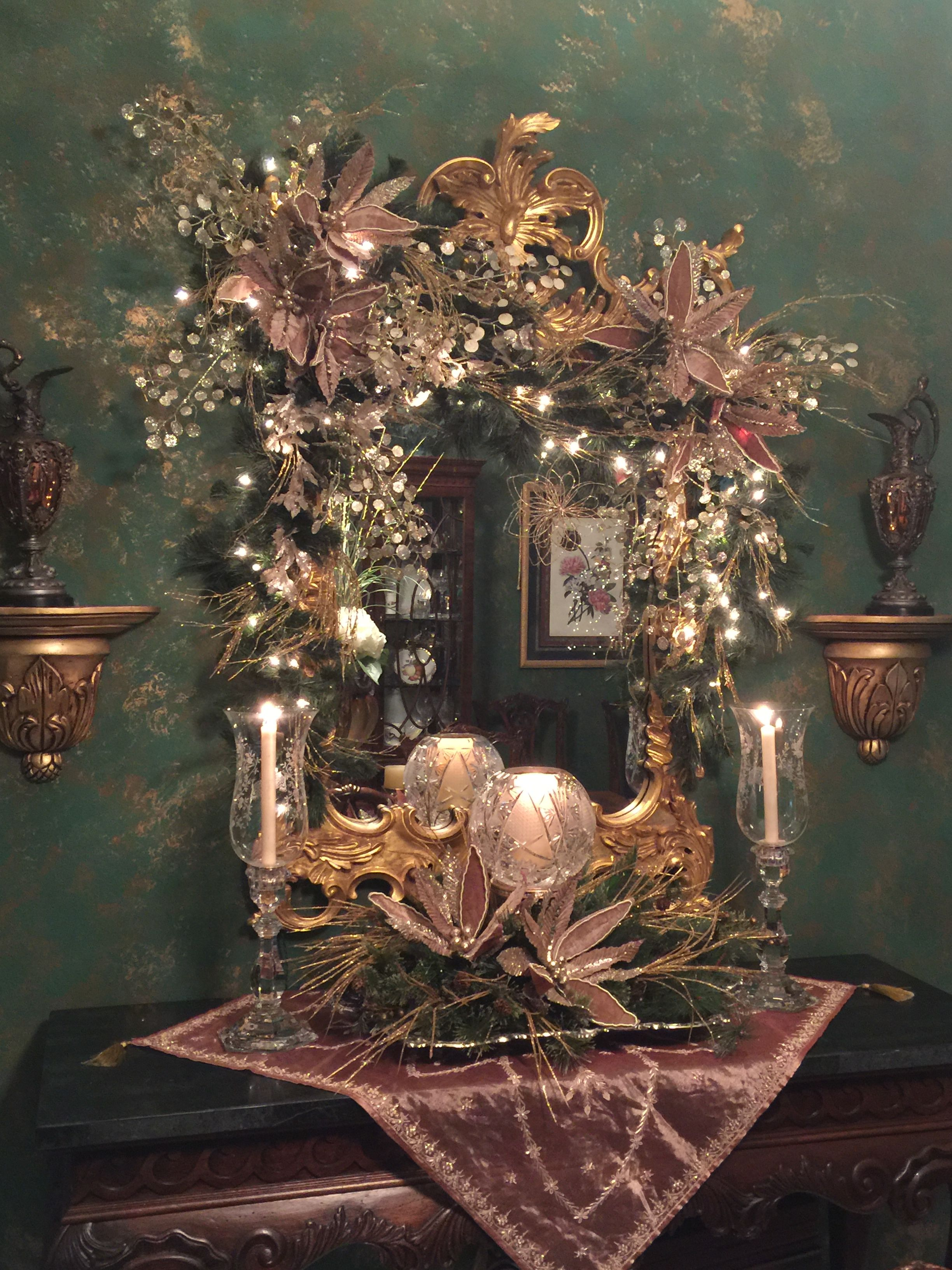 Dining room elegance Christmas