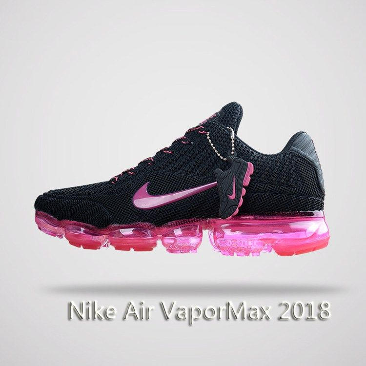 best website c72ca 615ed Nike Air Vapormax 2018 Women Running Shoes Black Pink | Hot ...
