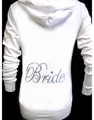 Bride Jacket Bridal Sweatsuits Just Married Hoos And Sweats Personalized Tracksuits Wedding Arel For The