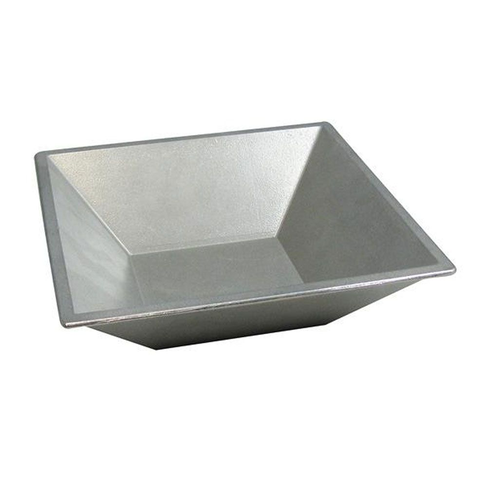 2 Qt 12 Oz 8 1 2 X 8 1 2 X 2 1 2 Inch Flared Bowl Black Case Of 2 Case Of 2 Bowl Stainless Steel Bowl Pewter