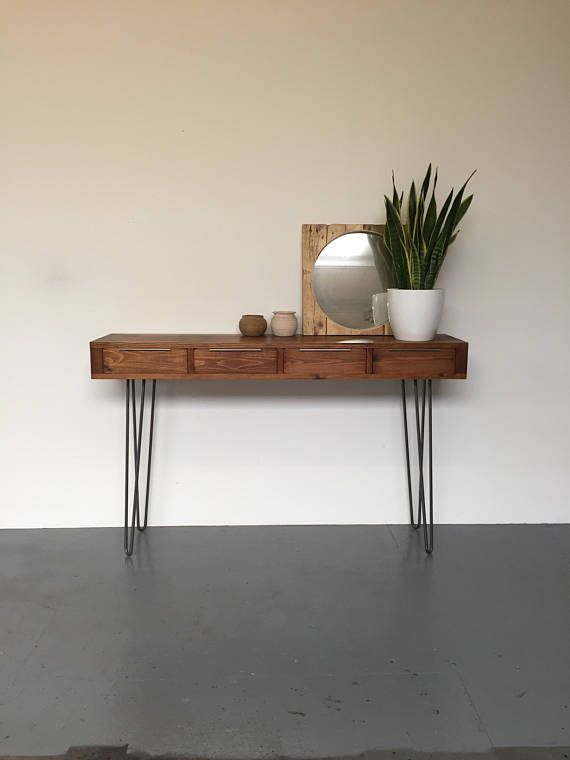 Lovely solid Wood Hall Tables