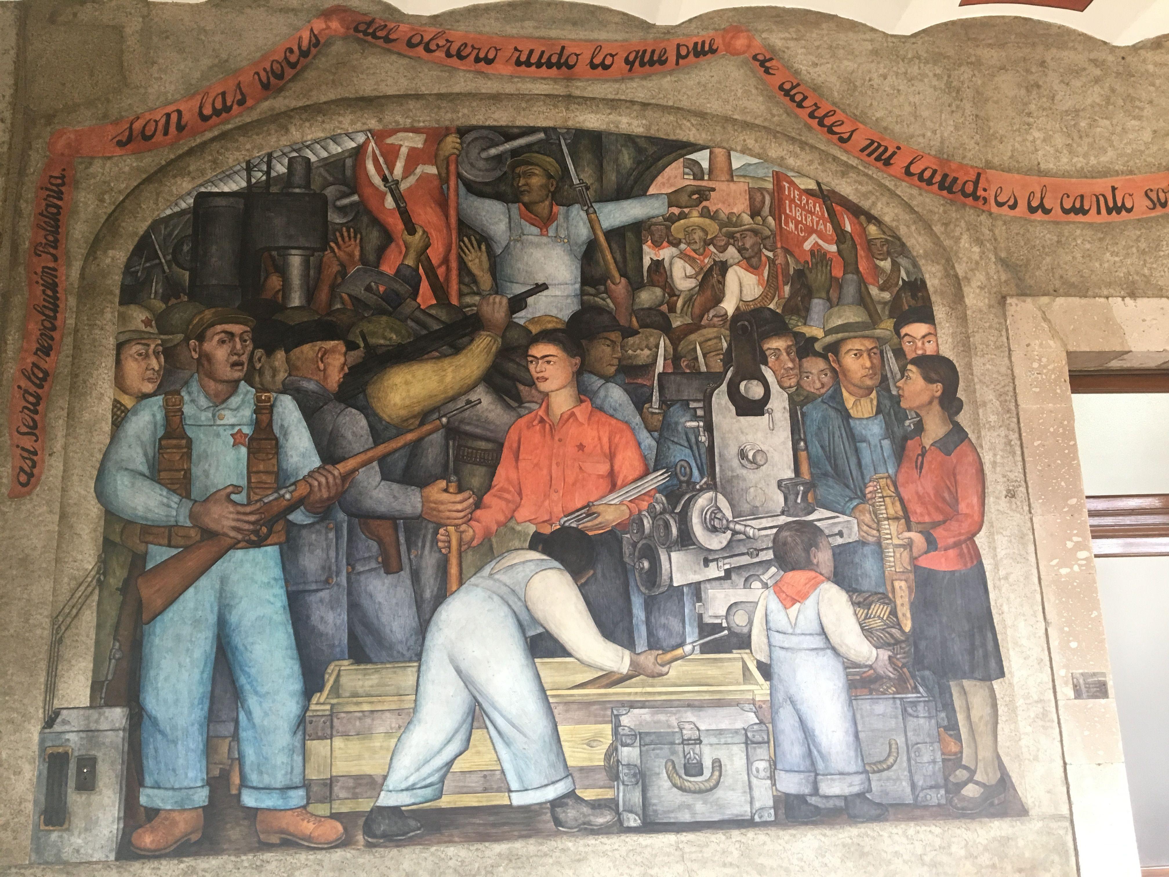 Autor Diego Rivera Ano 1923 Titulo El Arsenal Ubicacion Sep