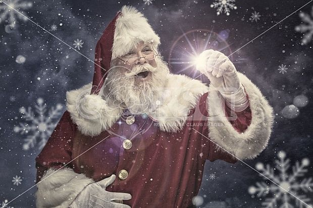Santa Stephen Catching The Spirit Of Christmas Pictures And This Images Can Be Licensed To U Santa Claus Images Father Christmas Santa Claus Is Coming To Town
