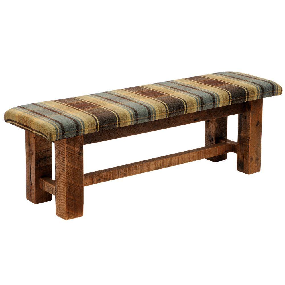 fireside lodge barnwood bench living room pinterest bench