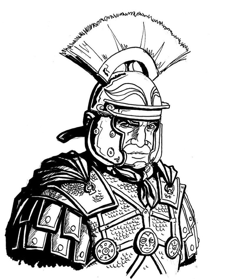 spqr roman soldier coloring page images gallery