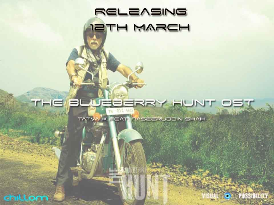 The Blueberry Hunt OST featuring Naseeruddin Shah's Singing Debut, releasing on 12th March. Pre-order starts today..    Head to our stores now: http://www.chillomrecordsindia.com/store    So, what are you waiting for?    #blueberry #naseeruddin #debut #bollywood