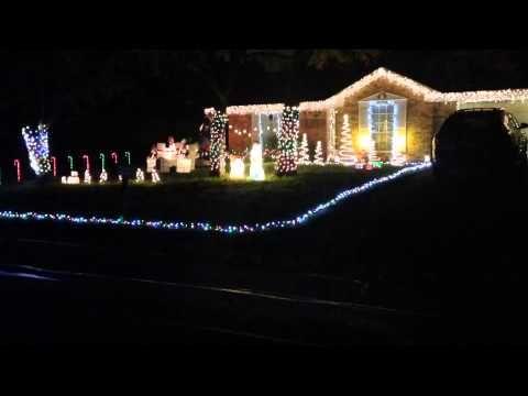 Musical Christmas Light Display On Westover Street Youtube Christmas Lights Set To Musical Christmas Lights Christmas Light Displays Holiday Lights Display