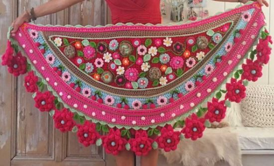 Adinda Zoutman y su maravilloso mundo crochet / Crochet Master ...