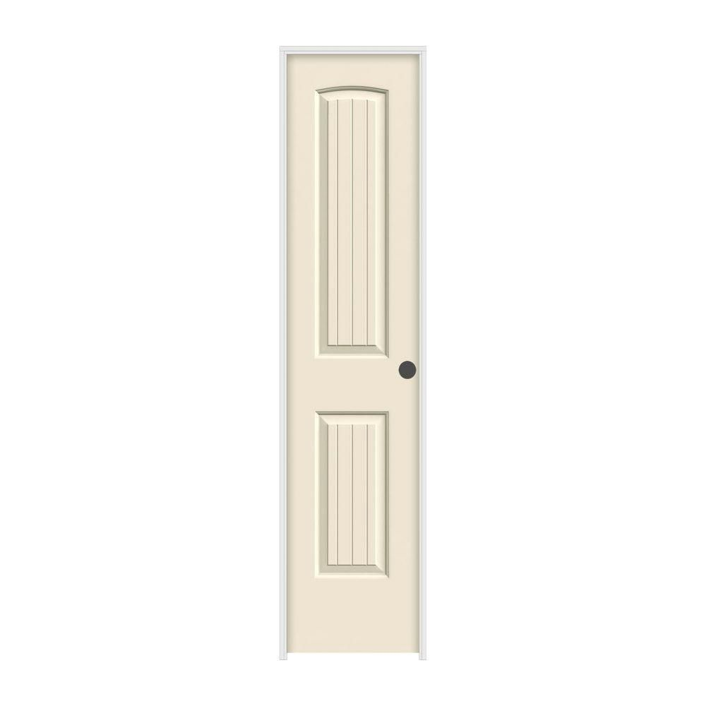 Jeld wen smooth panel arch top  groove solid core primed molded prehung interior doorssanta also rh pinterest