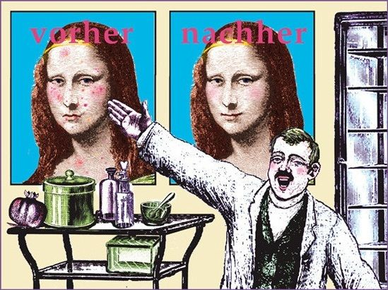0400 Kathrin Göpfert - 06 Mona Lisa & der Dermatologe