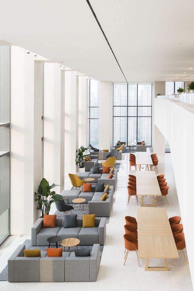 Gallery Of Soho Bund Aim Architecture 4 Office Interior