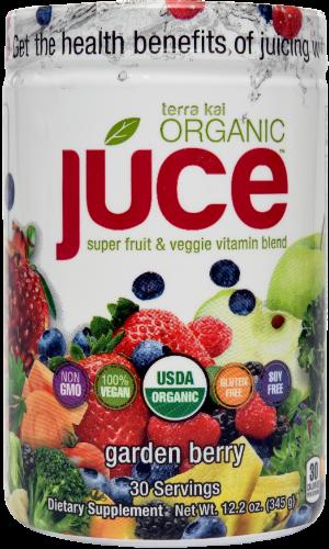 Júce - Super Food Veggie Juice - Terra Kai Organics Júce