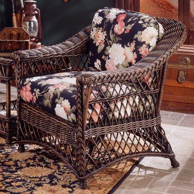 Bay Isle Home Rosado Armchair Upholstery Padgetville Sunblue Finish Brownwash Home Moveis De Fibra Moveis