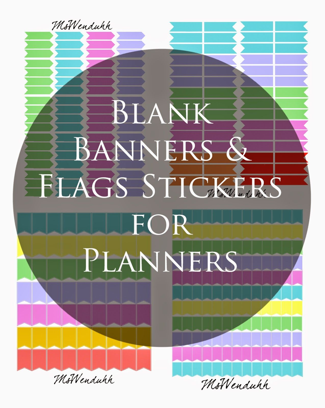 printable stickers blank banner free printable stickers and banners
