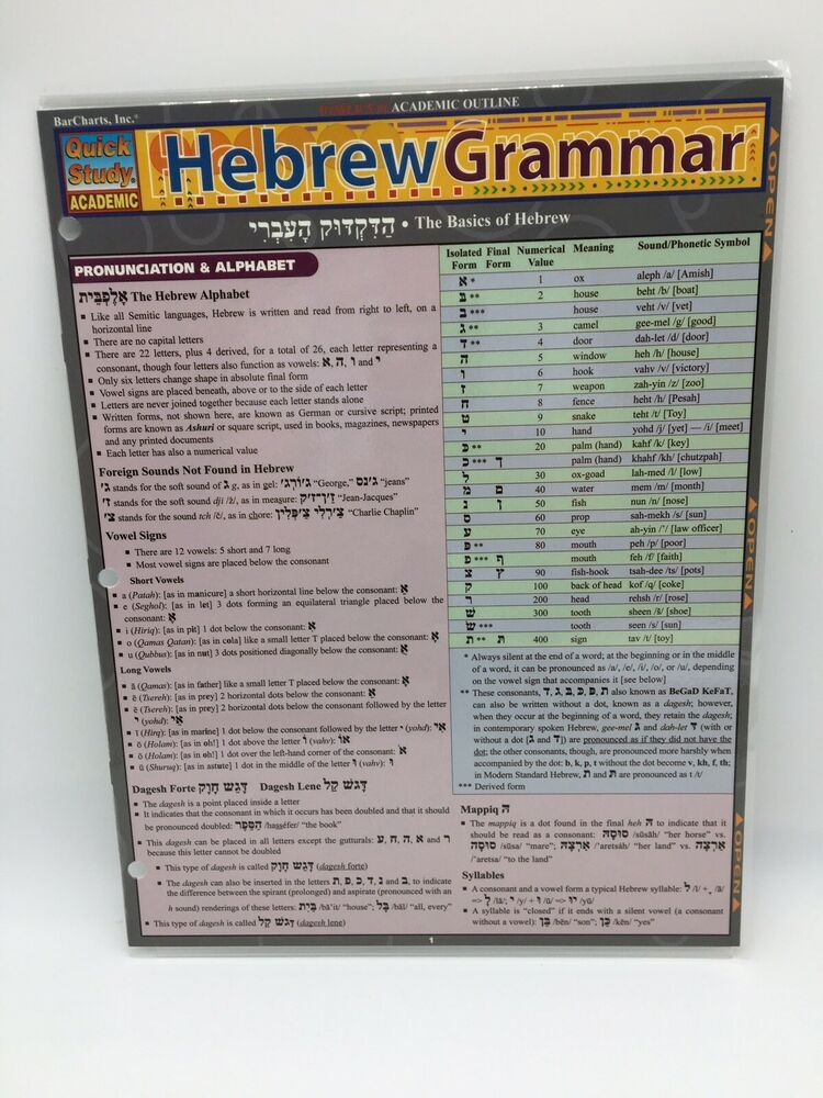 Pin By Danielle Slater On Bible Textbooks In 2021 Study Hebrew Learn Hebrew Grammar And Punctuation