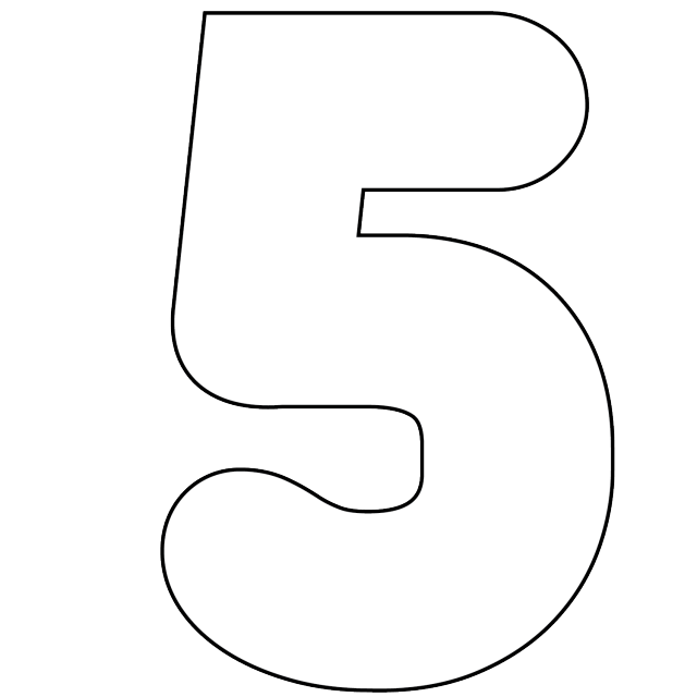 It 39 s as easy as 1 2 3 to use free printable numbers for Free number templates to print