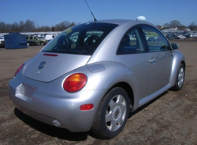 2001 Volkswagen Beetle - This car was generously donated through Cars for Homes in Richmond, CA. It was auctioned off, generating funds for Habitat for Humanity East Bay to build homes locally for families in need. www.carsforhomes.org