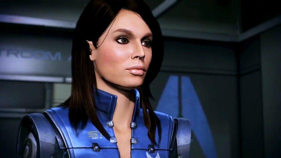 Ashley Williams Mass Effect 3 By Ratedrbryan On Deviantart
