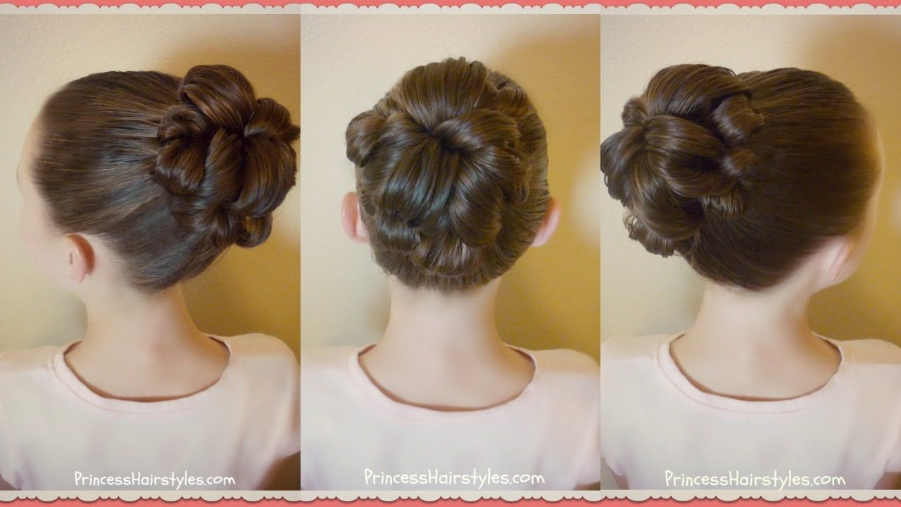 Topsy tail bun tutorial quick and easy hairstyle for dance