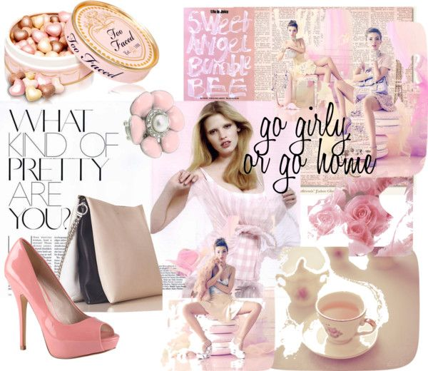 """""""Pretty in Pink"""" by yellbrikrd on Polyvore"""