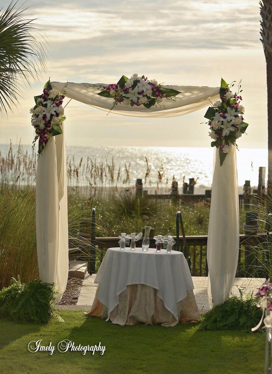 Diy Wedding Arch Arches Qld Deckss