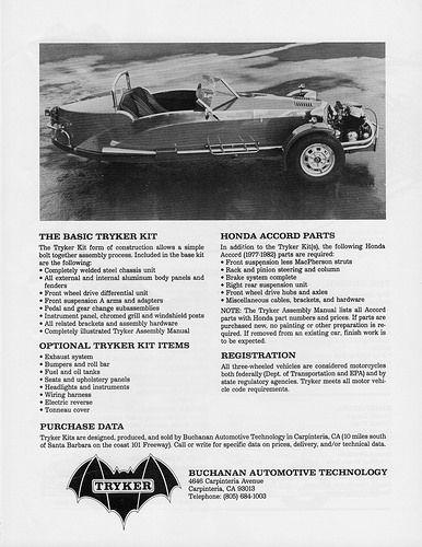 1984 Tryker Kit Car   by aldenjewell
