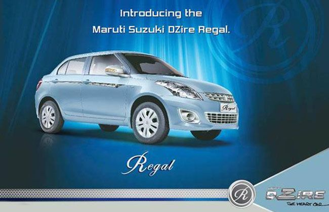 Maruti Suzuki Swift Dzire Regal Price New Features Regal Maruti