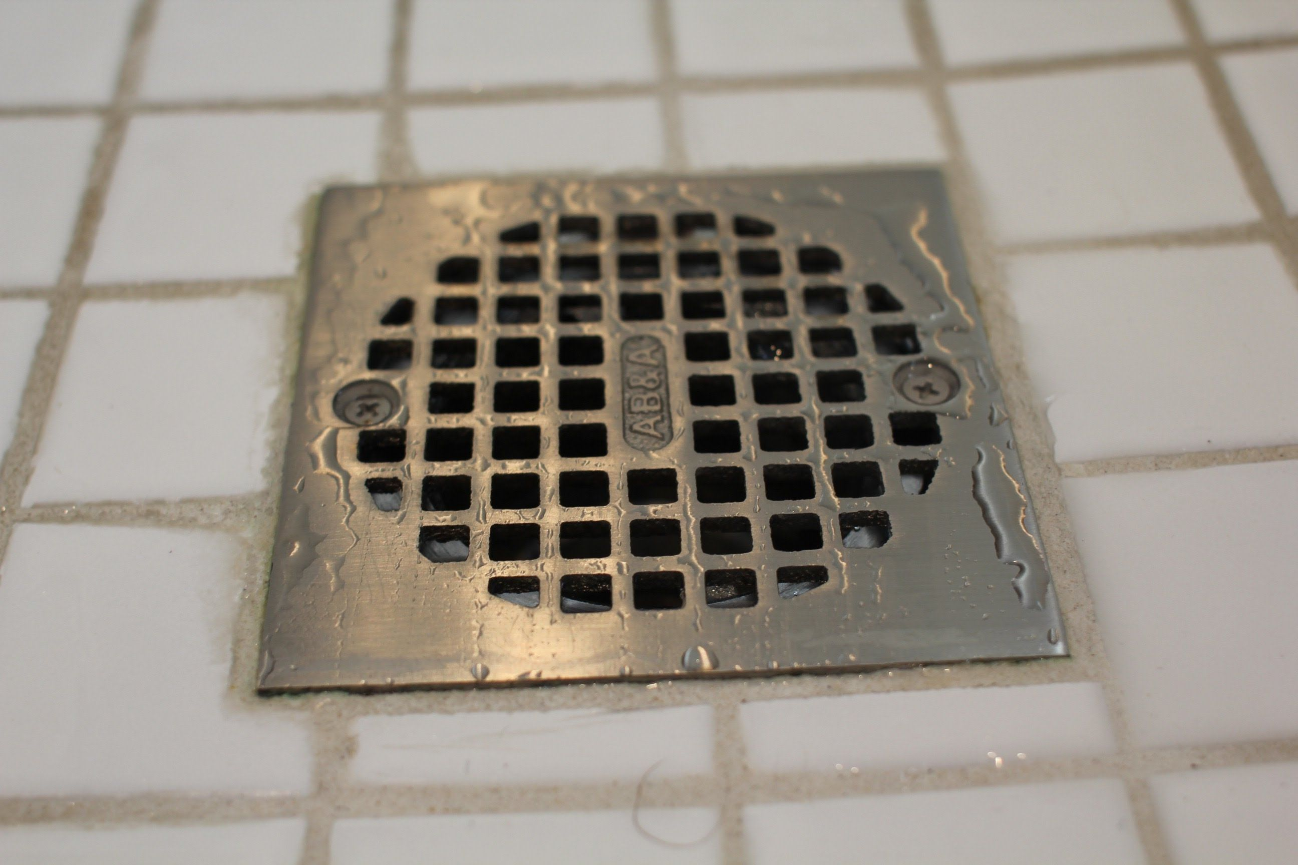 How To Fix A Slow Draining Shower Shower Drain Floor Drains
