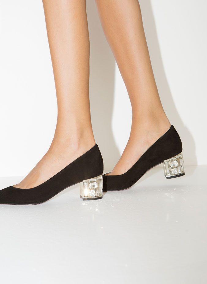 Zapato tacón cristal - Ver Todos - Calzado - Uterqüe España