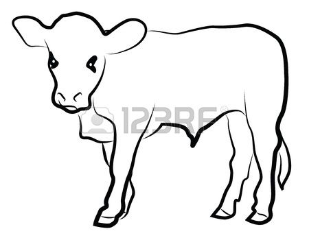 44++ Cow calf clipart black and white information