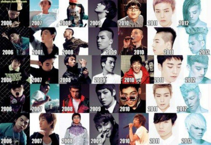 Bigbang 2006 2012 Forever Bigbang Korean Pop Black Veil Brides