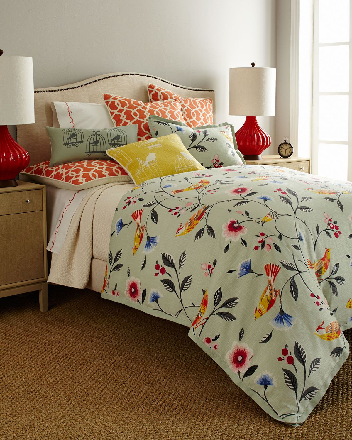 French Laundry Home Bianca Bird Bed Linens Neiman Marcus