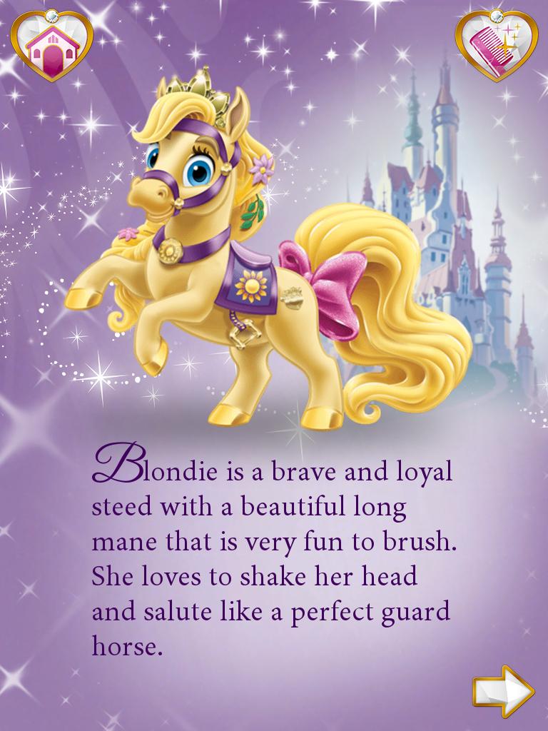 Princess Palace Pets Rapunzel Blondie Disney Princess Pets