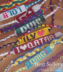 Words In Friendship Bracelets My Were