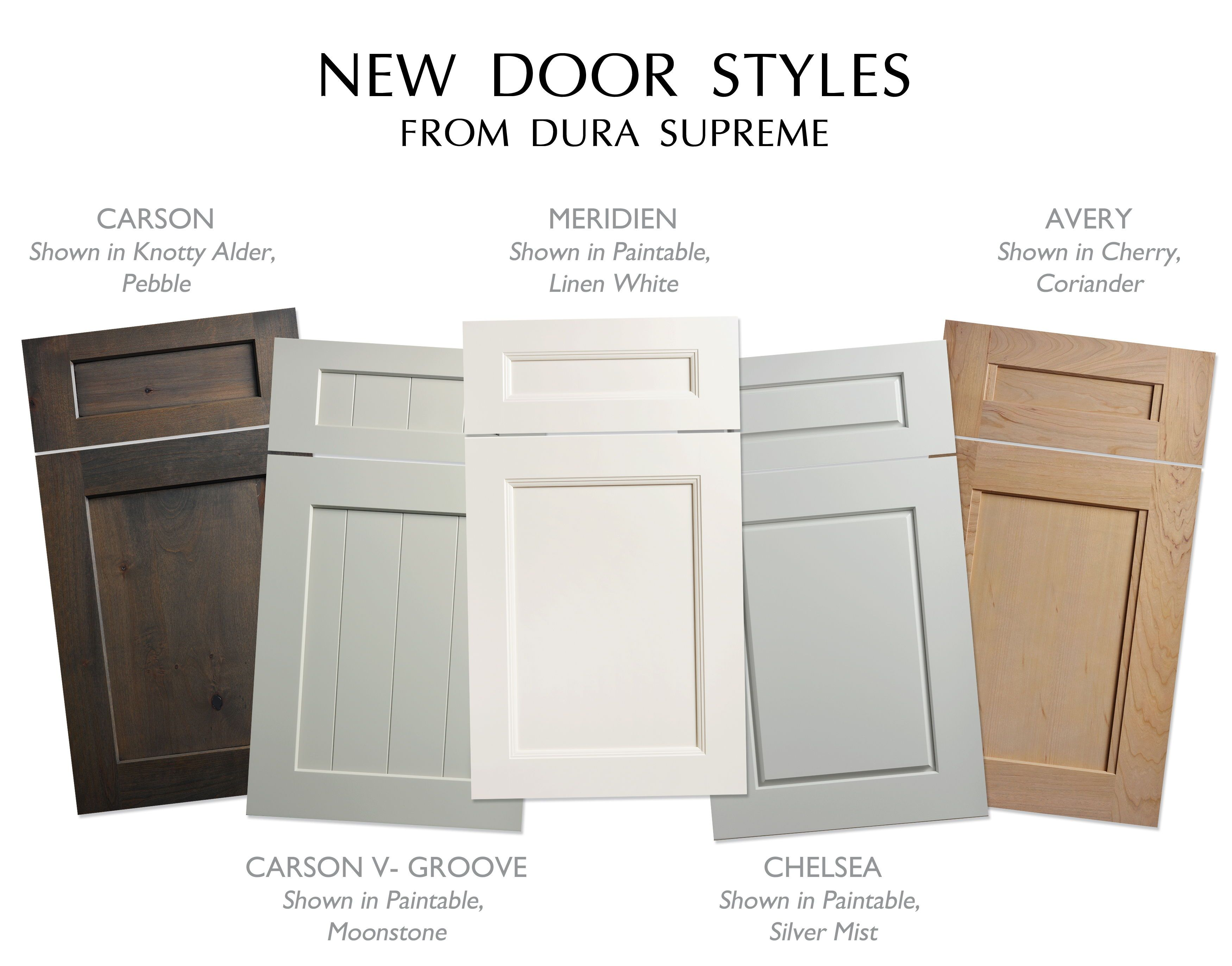 NEW Full Overlay Cabinet Door Styles From Dura Supreme Cabinetry: # Durasupreme #cabinetry #cabinets #cabinetdoor #cabinetdoorstyle #doorstyle  #cabinetstyle ...