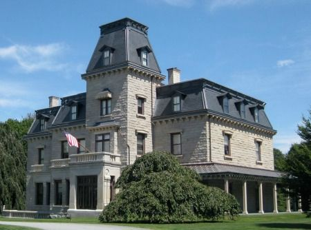 The Victorian-style Chateau-sur-Mer was the largest home in Newport until  the Vanderbilt mansions were built in the Today, this historic landmark  seems ...