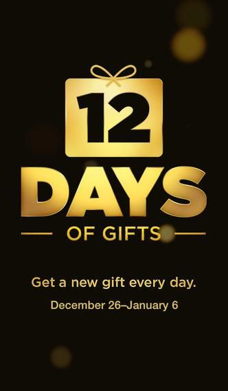 Apple 12 days of christmas first gift