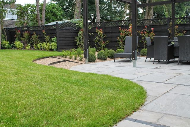 Entertaining Garden Design, St. Marys Walk, Swanland, East ...
