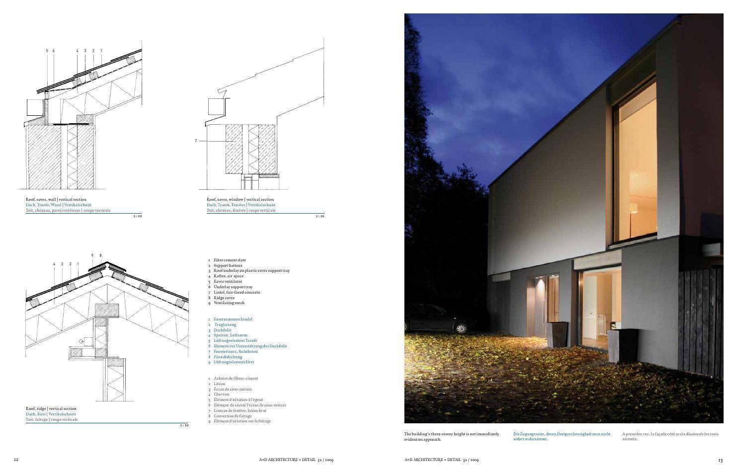 architecture & detail magazine - issue 36 | details magazine, Innenarchitektur ideen