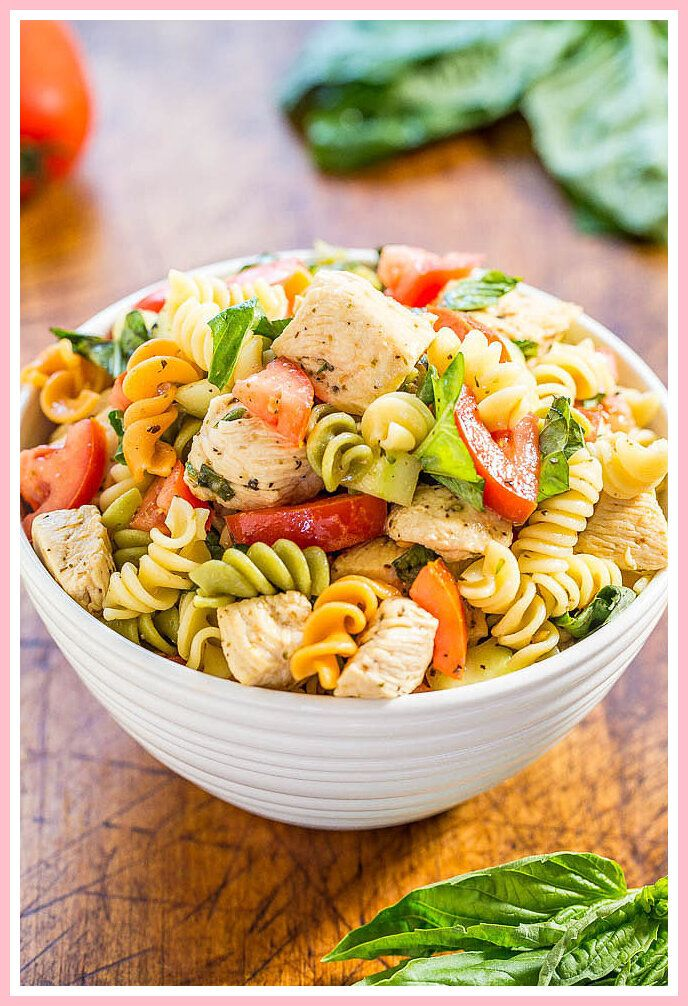 62 reference of italian pasta salad recipe with ham in