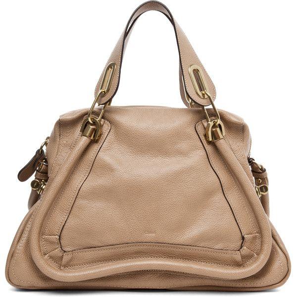 Chloe Paraty Medium Handbag in Dove ($1,895) ❤ liked on Polyvore featuring bags, handbags, bolsas, dove, taschen, shoulder strap bag, hand bags, beige bag, beige purse and chloe handbags