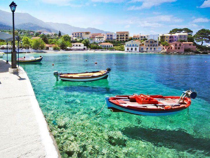Assos, Kefalonia, Greece. Uma das melhores viagens com a família!!! :)
