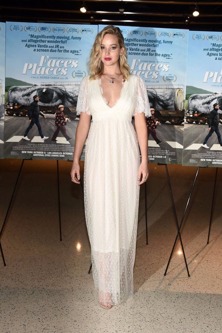 NBD, Jennifer Lawrence Just Wore a Wedding Dress to a Movie Premiere