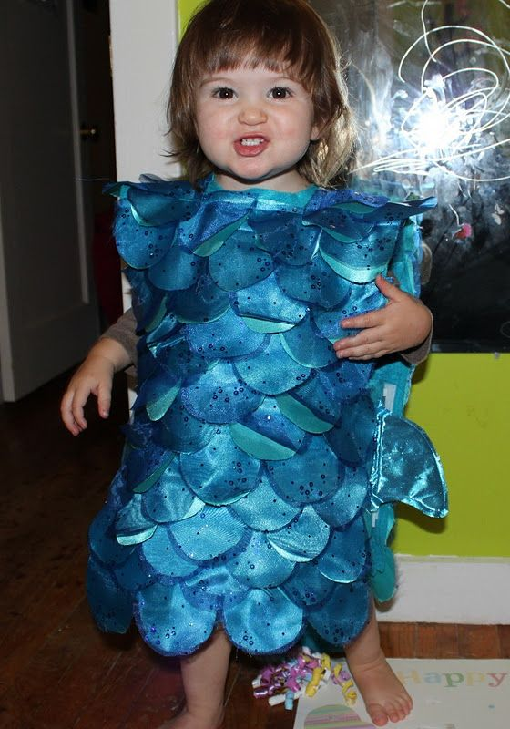 Cece and me diy toddler fish costume part 1 costume for Baby fish costume