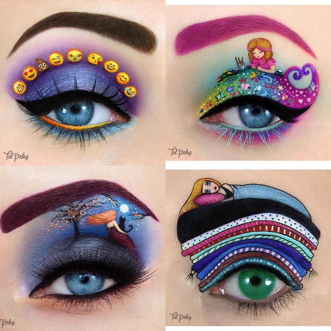 صور لمكياج عيون و كأنه رسومات فنية الجمال انتي بيوتي يو السعودية مكياج سبق Makeup Makeupartist Makeuptips صور Makeup Halloween Face Makeup Face Makeup