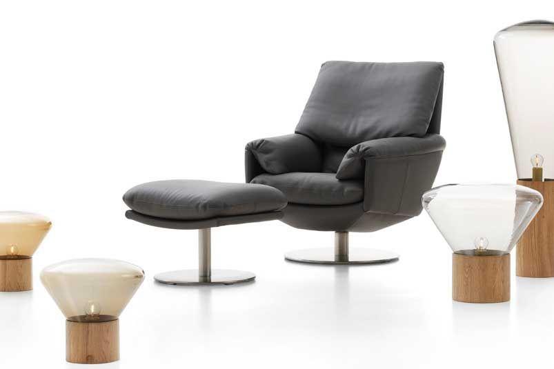 Leren Fauteuil Leolux.Cece Designed By A Design Studio For Leolux Fauteuil Leer