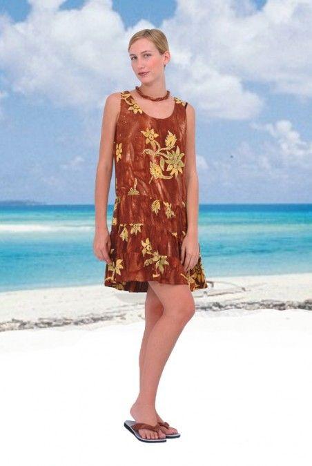 46e411101abd Beachy Keen Loose Hawaiian Tank Dress | Casual Hawaiian Dresses ...